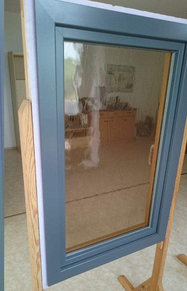 Holz-Alu-Fenster außen