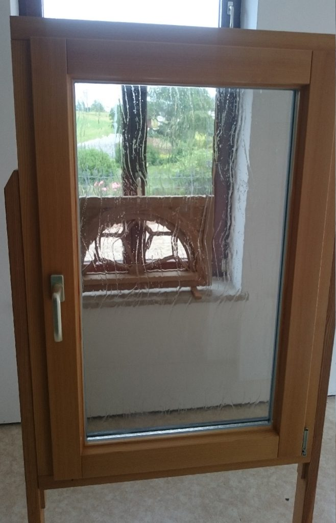 Holz-Alu-Fenster innen