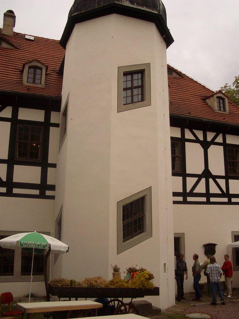 Holzfenster Hausansicht