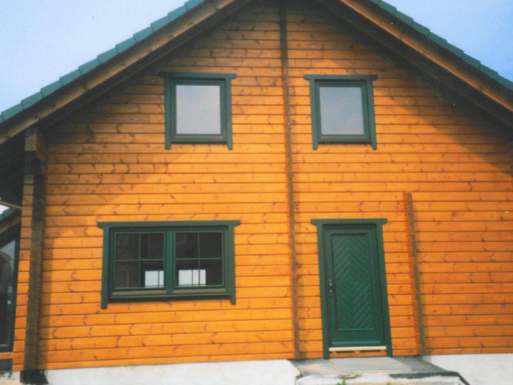 Holzhaustüren, Holzfenster