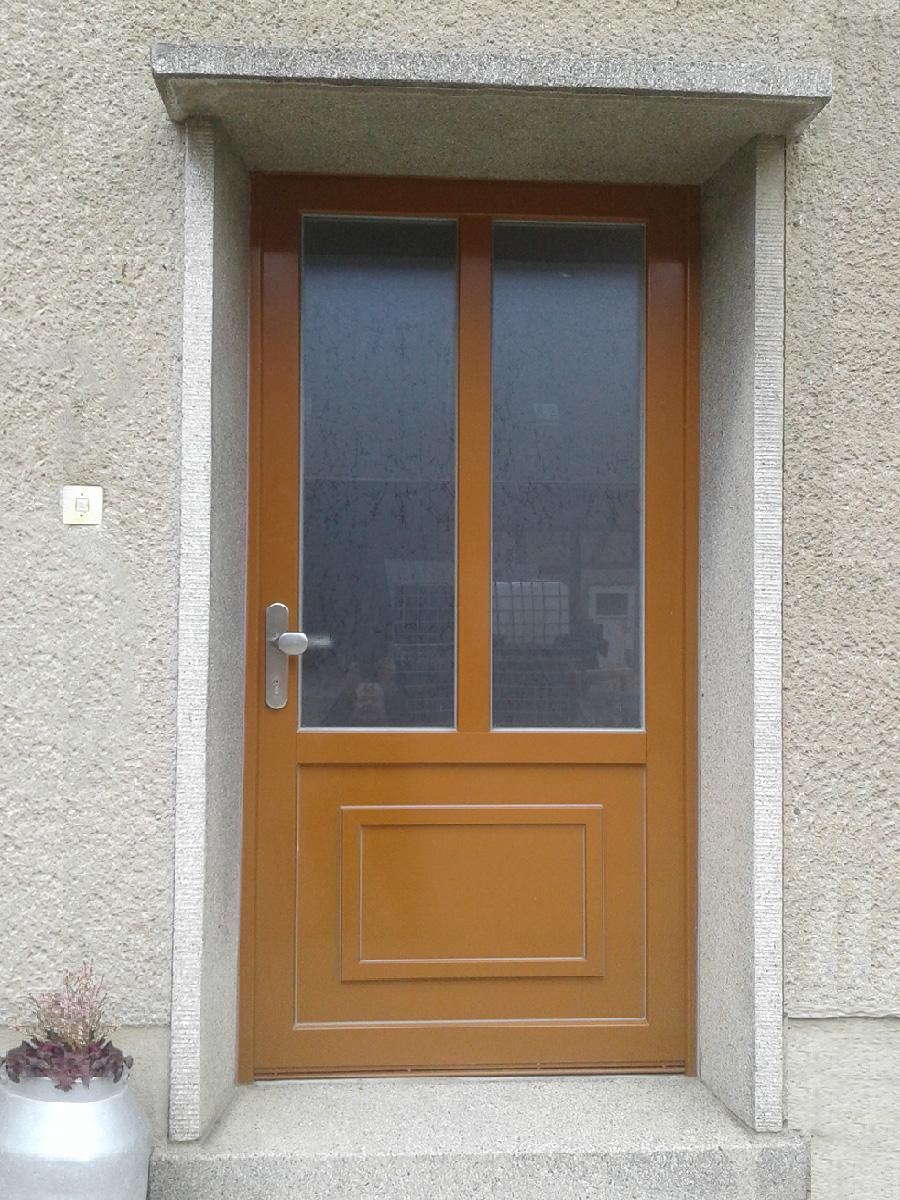 Holz-Alu Haustür
